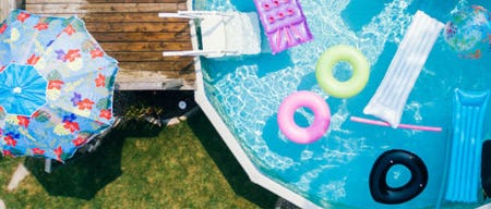 Keep Cool with a Pool